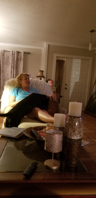 Aunt Jenny loving Hazel